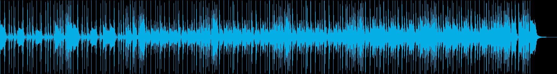 スラップベースとカッティング王道ファンクの再生済みの波形