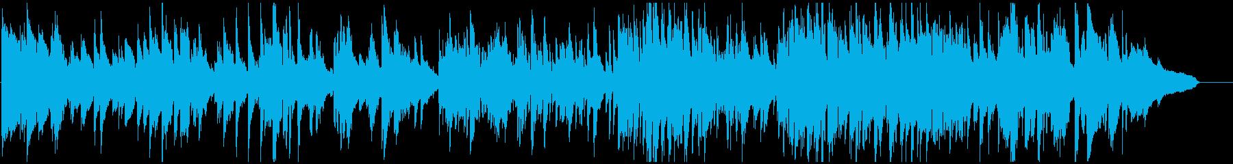 リラックス・ムードのエレガントなサックスの再生済みの波形