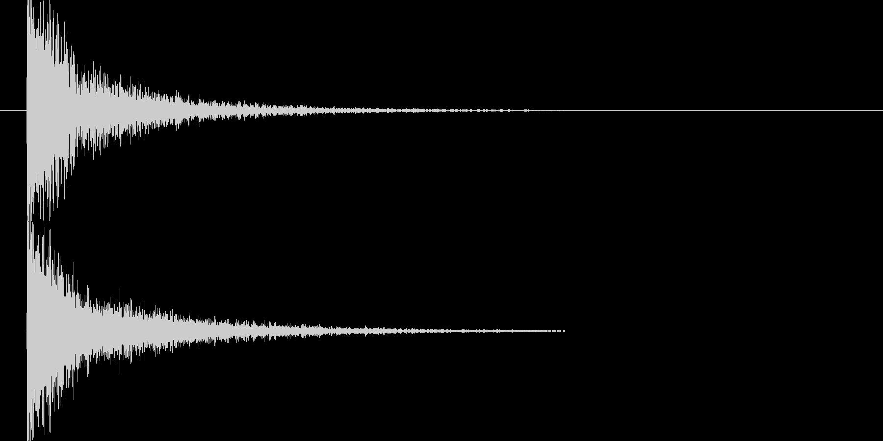 映画告知音143 ドーンの未再生の波形