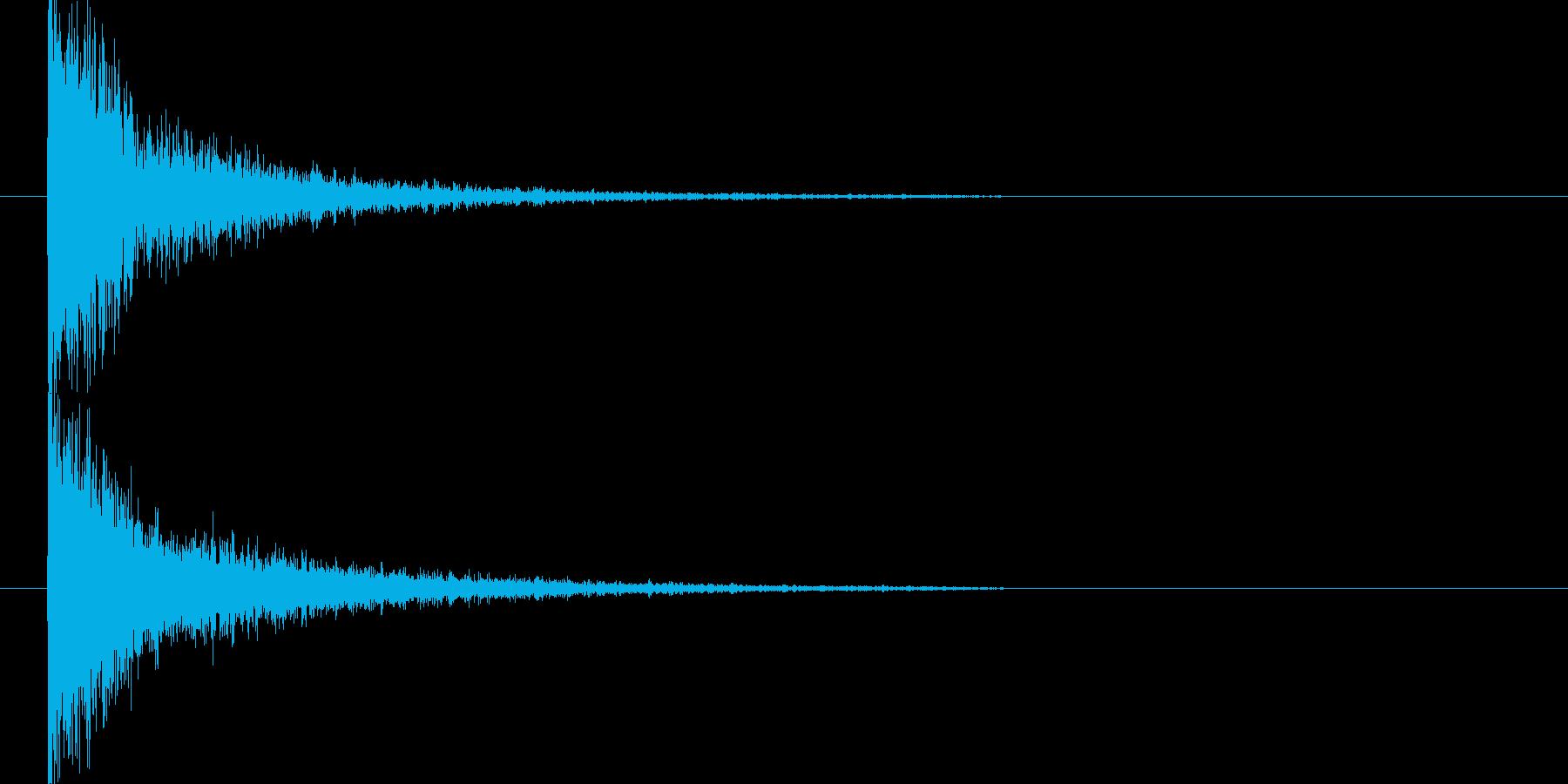 映画告知音143 ドーンの再生済みの波形