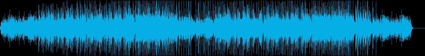 カントリーで民謡な曲の再生済みの波形