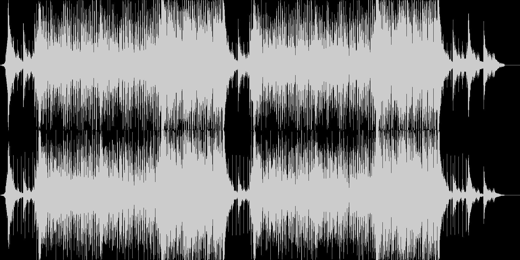 少し壮大さもあるほのぼのしたポップスの未再生の波形