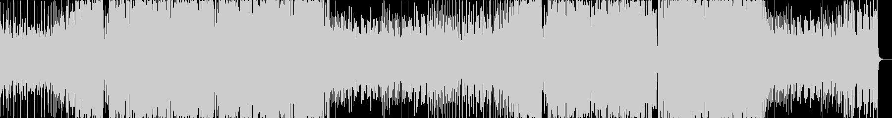 不気味なニューロファンク、ドラムンベースの未再生の波形