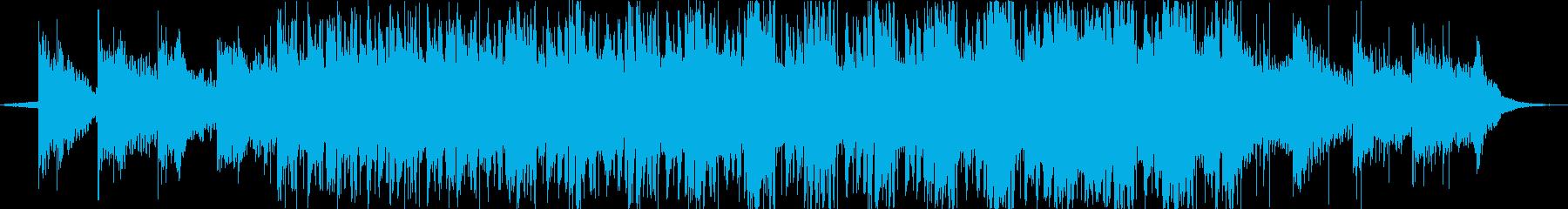 ゆったりとしたポストロックの再生済みの波形