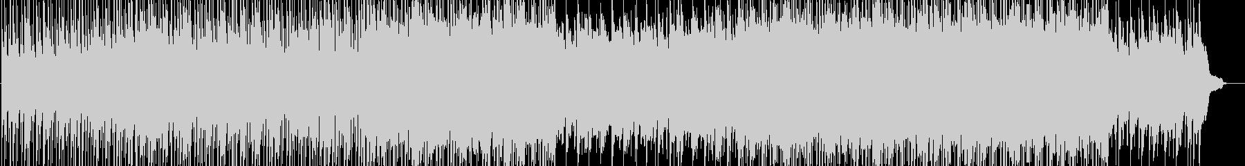 明るく活動的なイメージのBGMの未再生の波形
