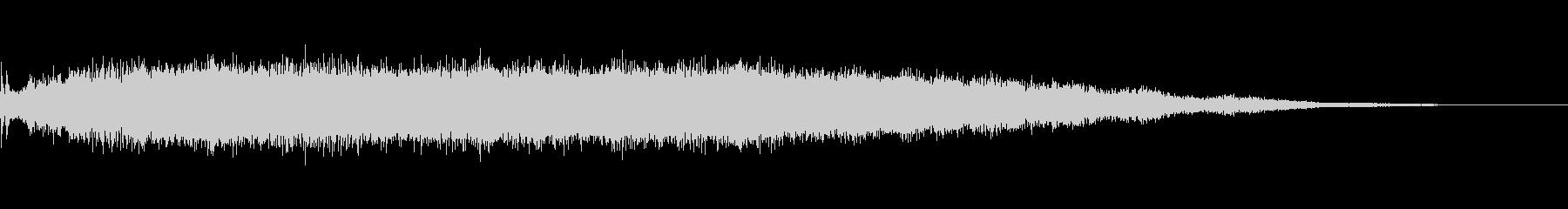 パワーサージビッグコードの未再生の波形