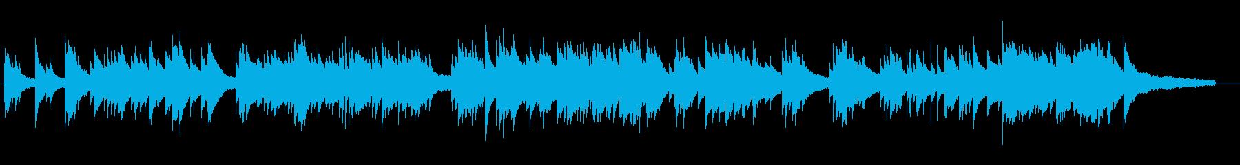 落ち着いたピアノソロ曲ですの再生済みの波形