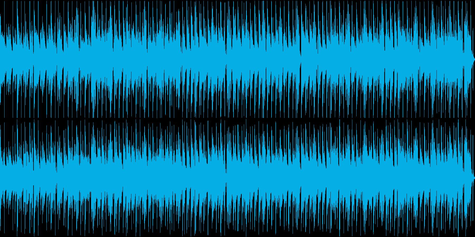 【ループ】温かい気持ちになるほのぼの系のの再生済みの波形