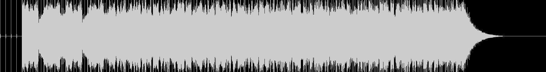 切ないメロディーが印象的なピースソングの未再生の波形
