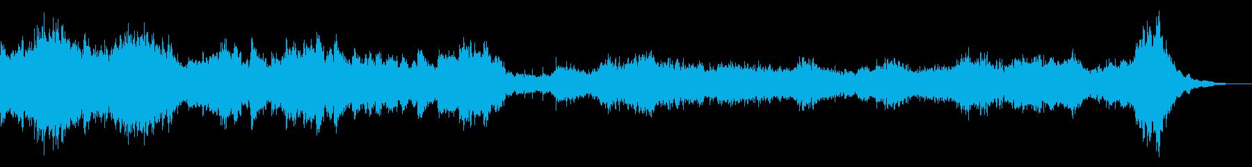 緊張シーン_60sec verの再生済みの波形