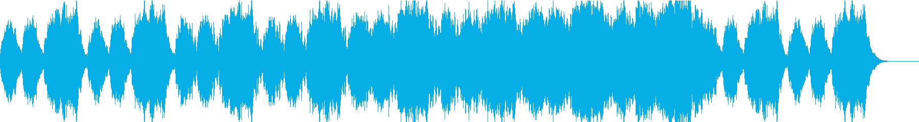 物語の終わりを想起させるBGMの再生済みの波形