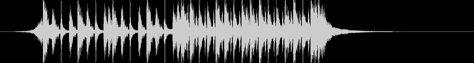 ダブステップ 実験的 神経質 テク...の未再生の波形