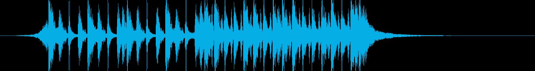ダブステップ 実験的 神経質 テク...の再生済みの波形