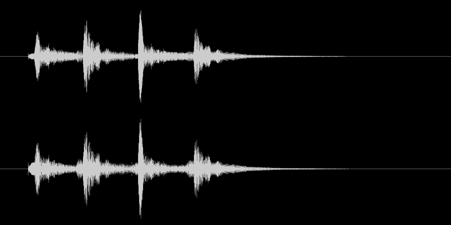 ピコピコッ/通知/テロップ/コミカル_2の未再生の波形