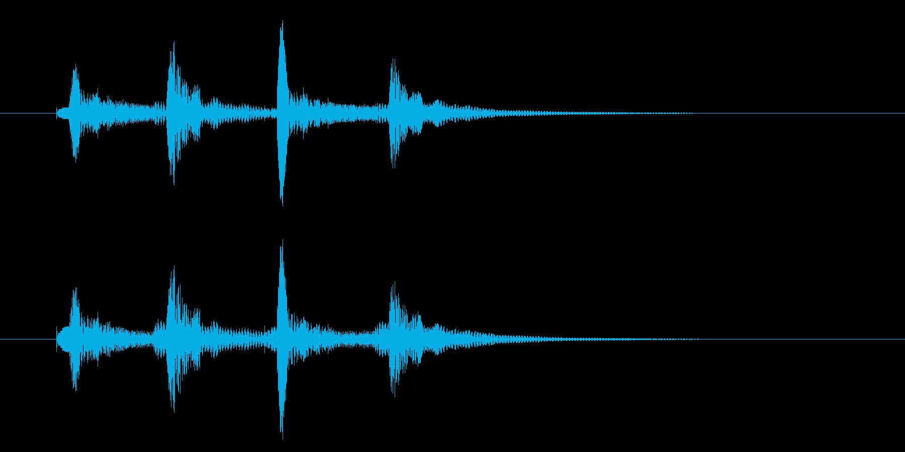 ピコピコッ/通知/テロップ/コミカル_2の再生済みの波形