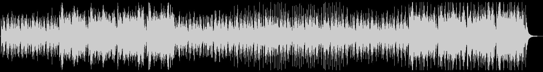 太鼓・笛・三味線によるお祭り的和風楽曲の未再生の波形
