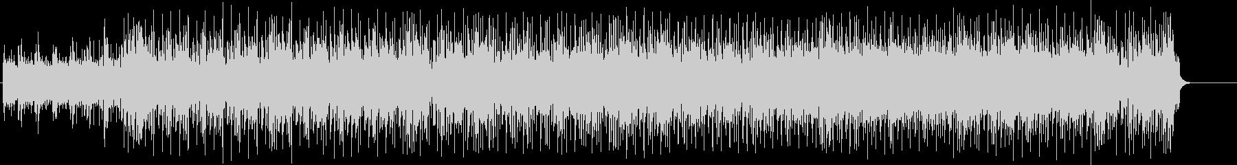 車のイメージVTR、スペック紹介BGMの未再生の波形
