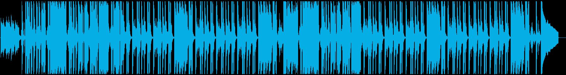 浮遊感のある Lo-Fi / Chillの再生済みの波形