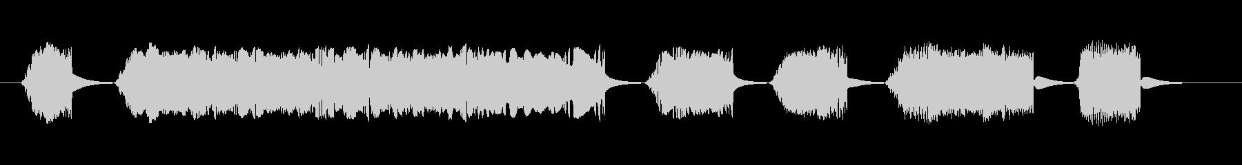 短いスタッター4の未再生の波形