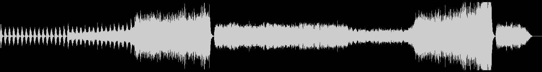 管弦楽による幻想的なBGMの未再生の波形