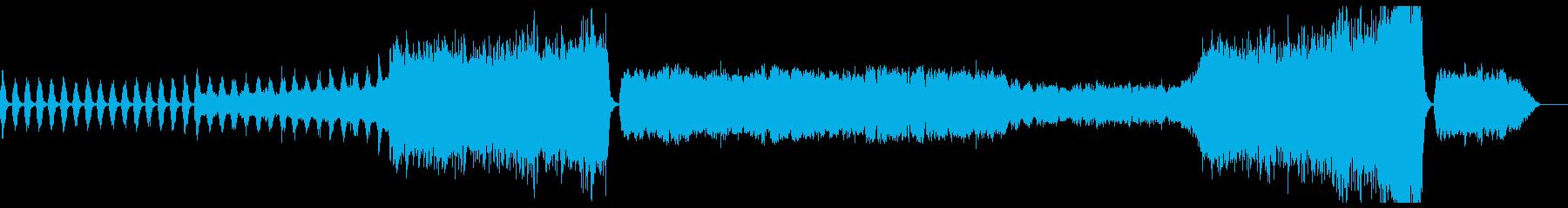 管弦楽による幻想的なBGMの再生済みの波形