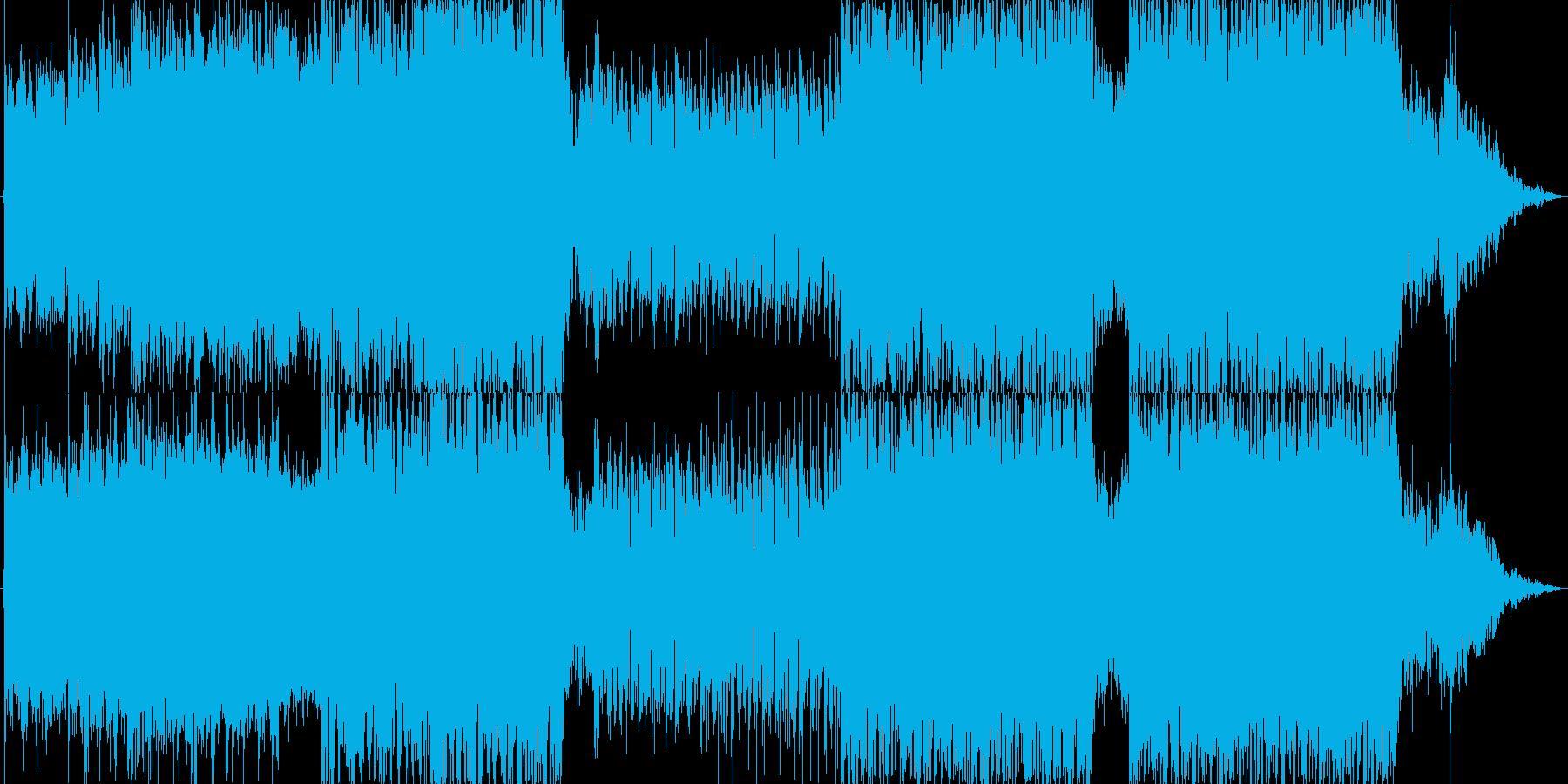映画/ゲームOPっぽい 戦闘シーンの再生済みの波形
