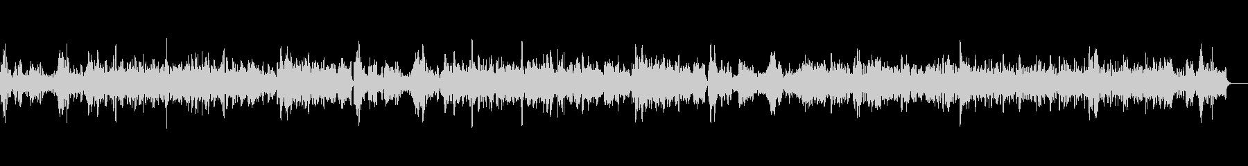 教会に響き渡るバイオリン独奏曲4の未再生の波形