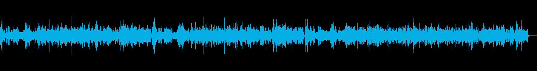 教会に響き渡るバイオリン独奏曲4の再生済みの波形