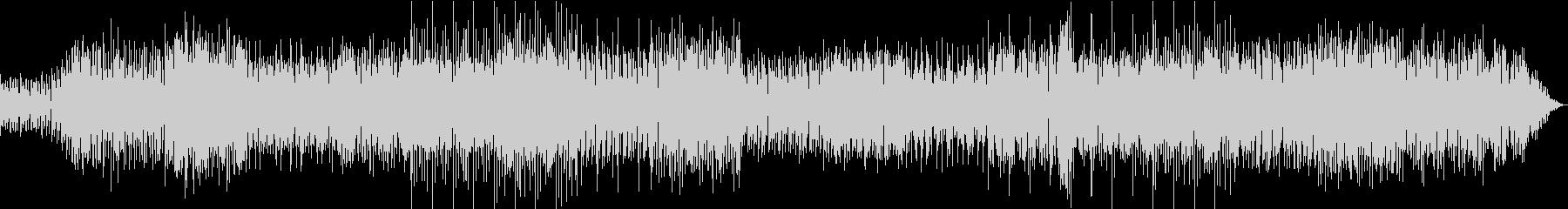 怪しい雰囲気のエレクトロミュージックの未再生の波形