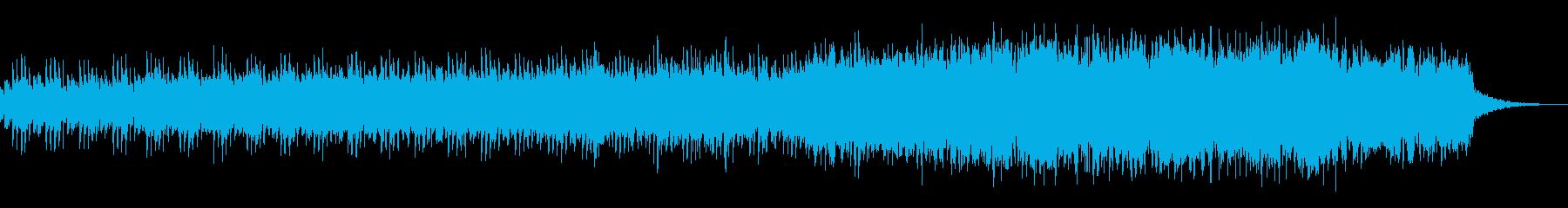 神秘を感じる宇宙的なBGMの再生済みの波形