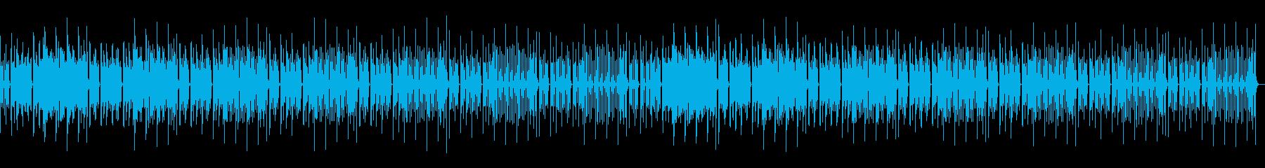 トーク用、日常、まったり、ほのぼのの再生済みの波形