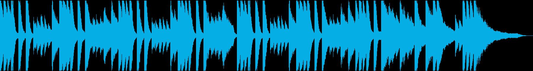 【ほのぼの系】30秒ジングル【映像】の再生済みの波形