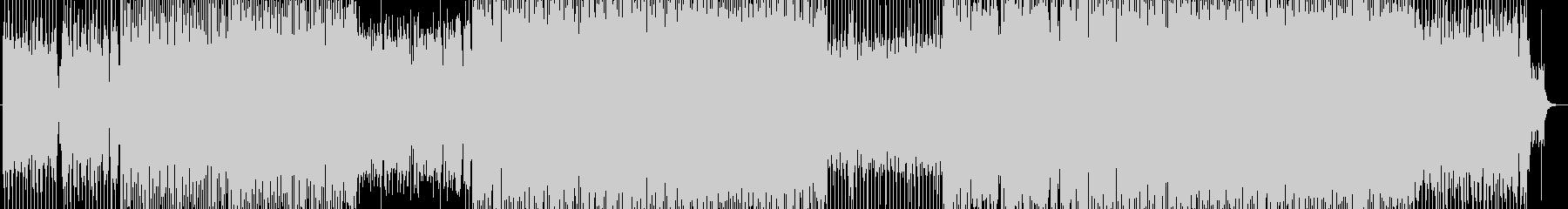 アソビゴコロたっぷりなEDMの未再生の波形