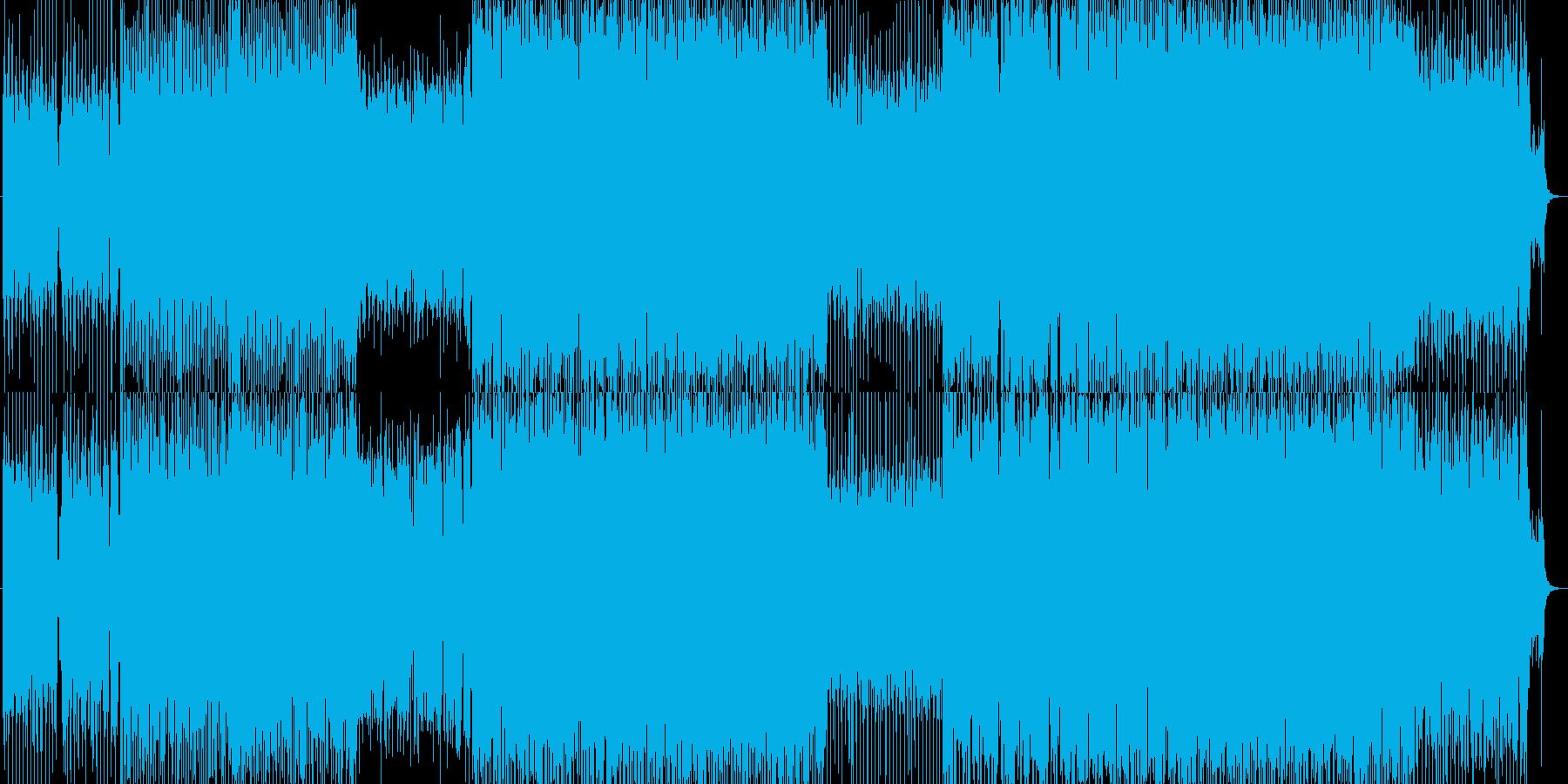 アソビゴコロたっぷりなEDMの再生済みの波形