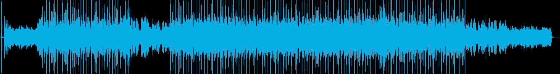 日本的、感情的,ドラマティックなインストの再生済みの波形