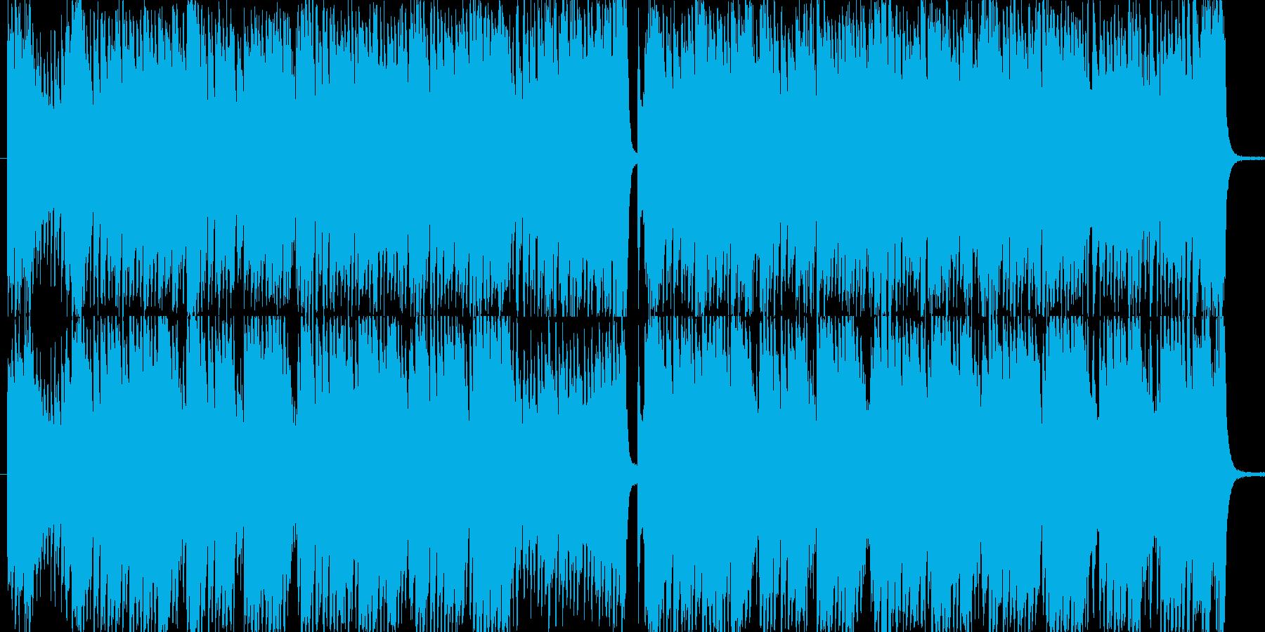 疾走感のある高速ジャズチューン。の再生済みの波形