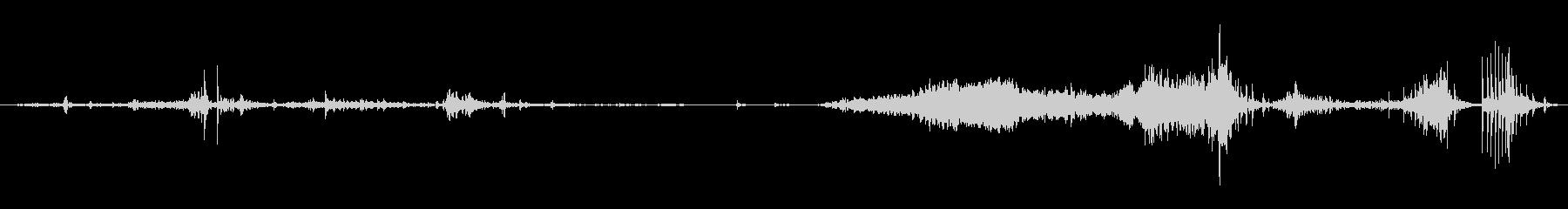 CANVAS SUITCASE:ふ...の未再生の波形