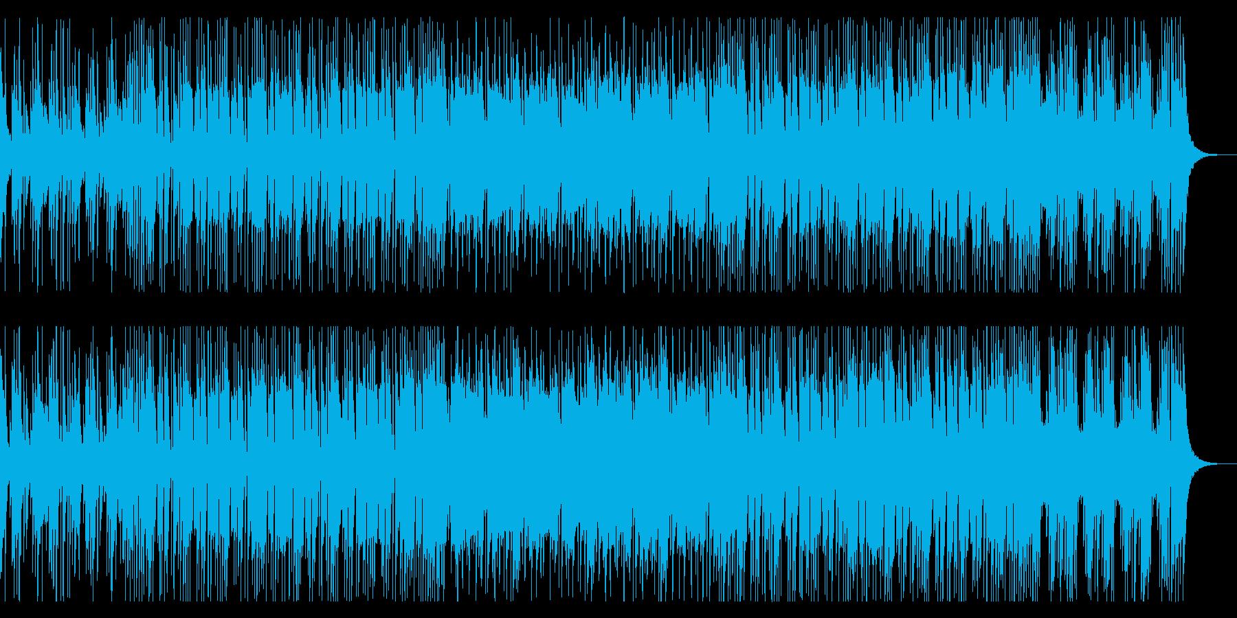セクシーで渋さ漂うクールなジャズテイストの再生済みの波形