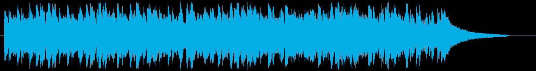 楽しいブギー ブギウギ ピアノジングルの再生済みの波形