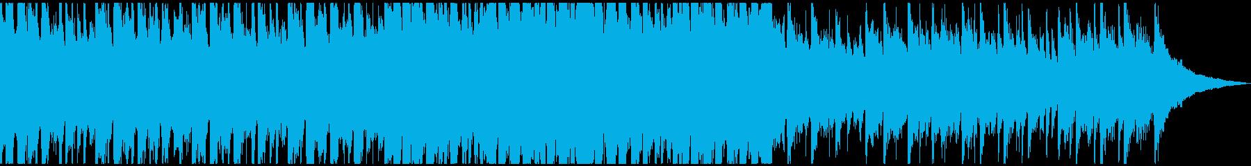 企業VPに明るい爽やかギターShort3の再生済みの波形