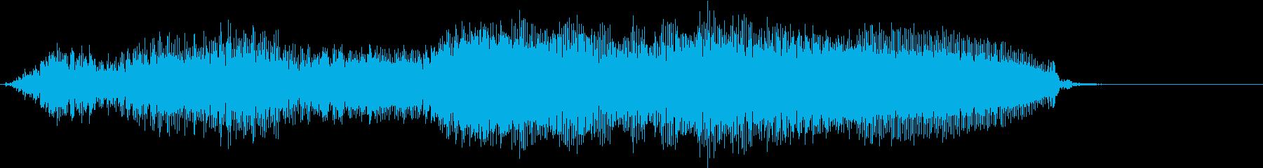 【物音】 ひきずる音_15 ギギギッッの再生済みの波形