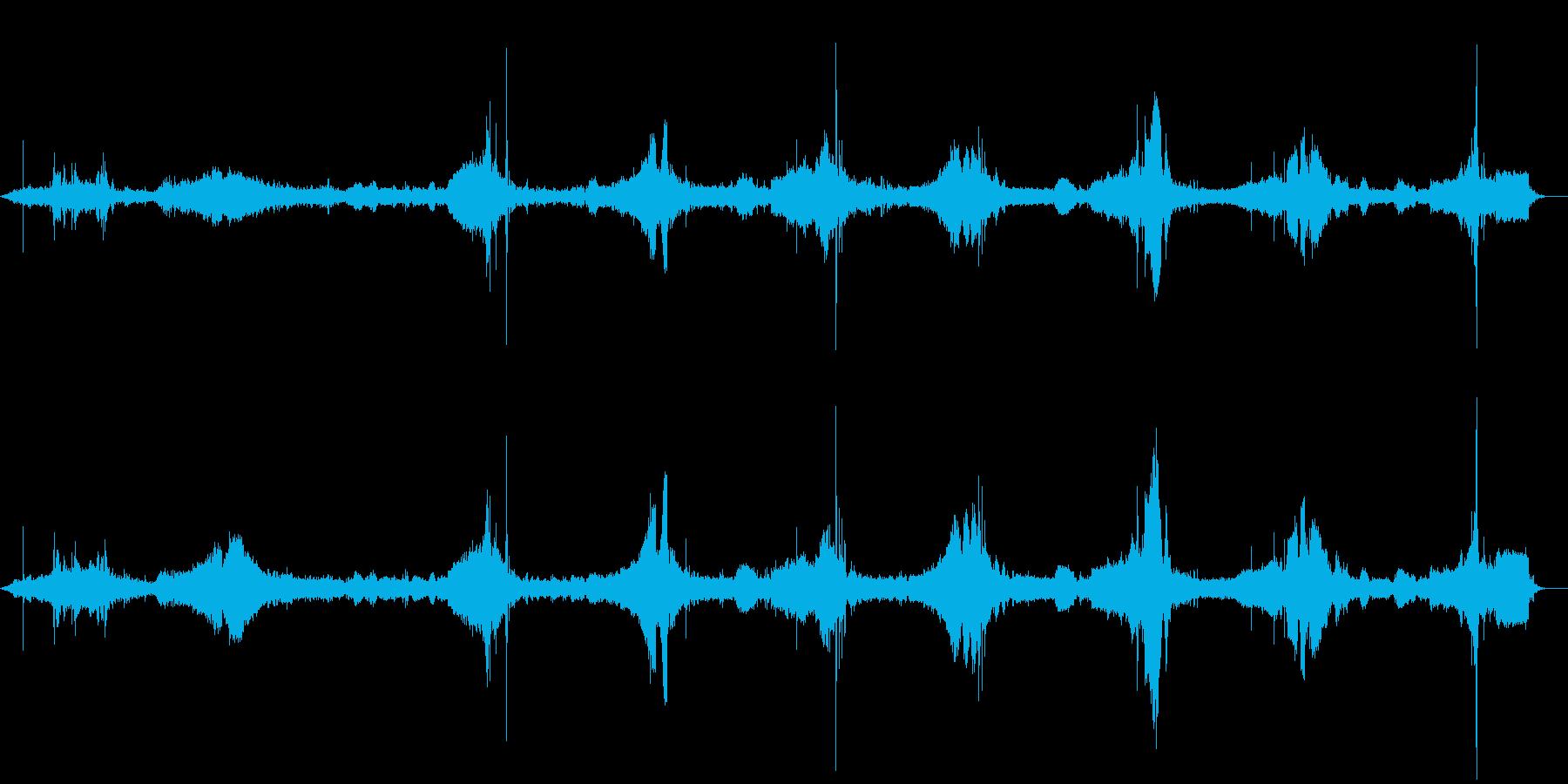 ハンビー:さまざまな運転操作。の再生済みの波形