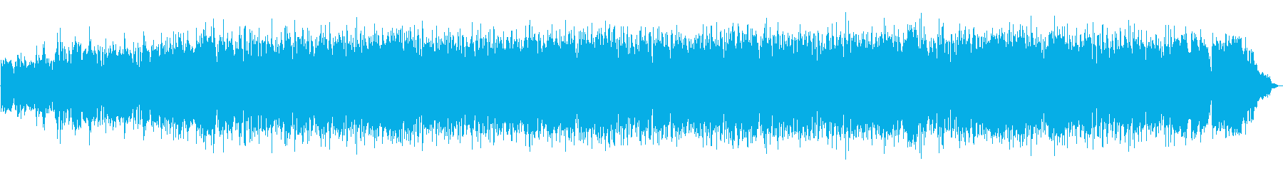フルートとピアノのお洒落で素敵なボサノバの再生済みの波形