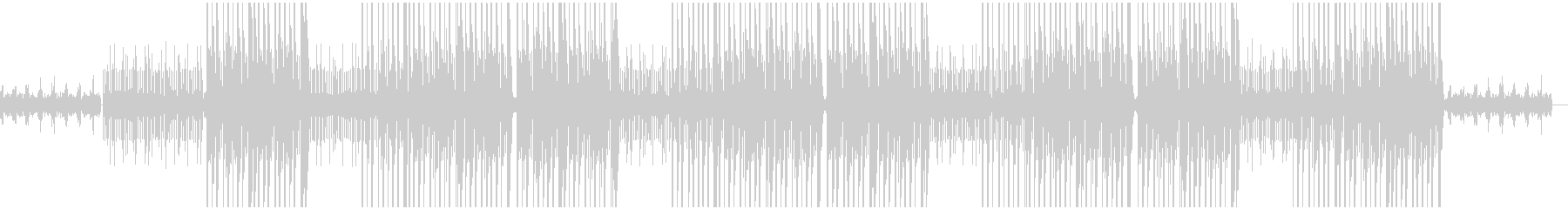 シンセのエモいトッラプ/ヒップホップの未再生の波形