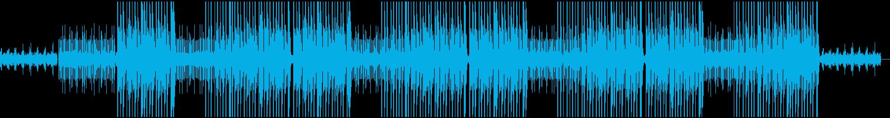 シンセのエモいトッラプ/ヒップホップの再生済みの波形