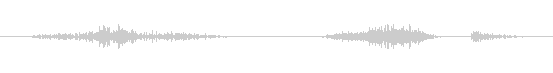 ロードキル、アニマルエンジングロー...の未再生の波形