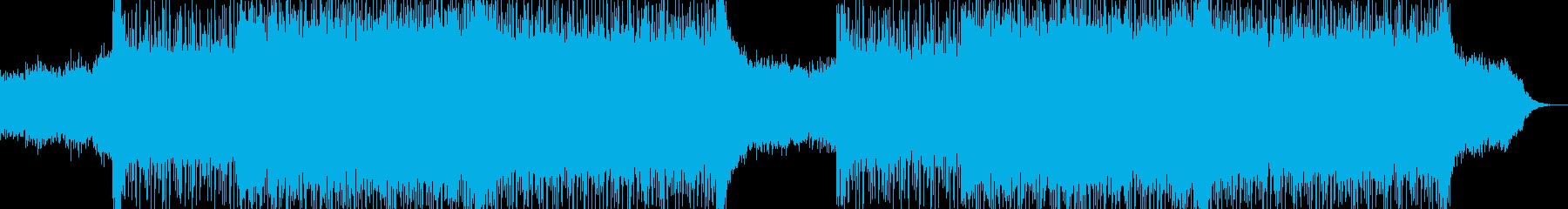 明るくポップな企業イベントVP-33の再生済みの波形