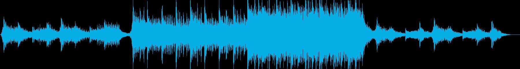 現代の交響曲 広い 壮大 神経質 ...の再生済みの波形