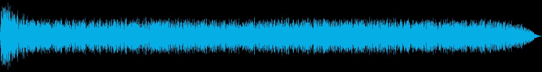 ロケット打ち上げ:一定のスラスター...の再生済みの波形