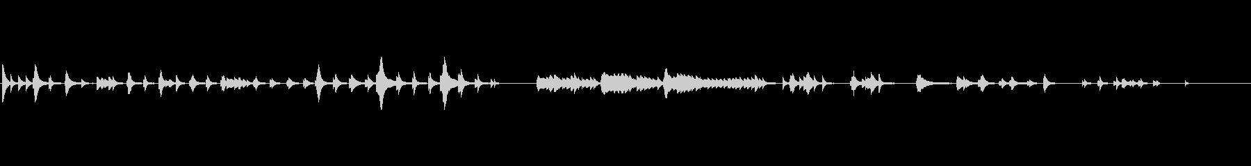 生演奏切ないピアノソロbpm80の未再生の波形